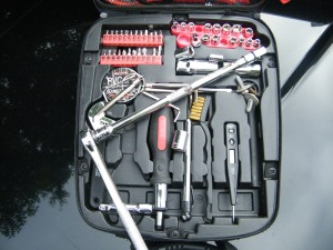 Tool set I carry around in the car with me usually